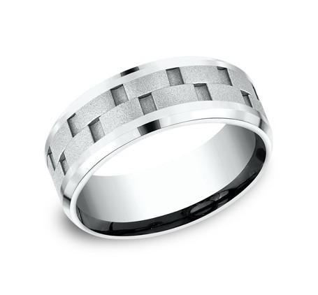 Benchmark 14K Wedding Band #CF188493