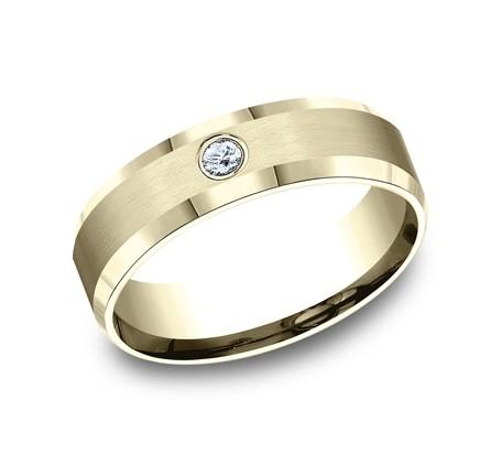 Benchmark 14K Diamond Wedding Band #CF526127