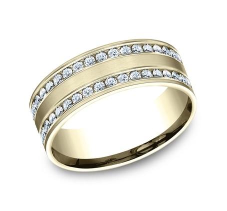 Benchmark 14K Diamond Wedding Band #CF528551