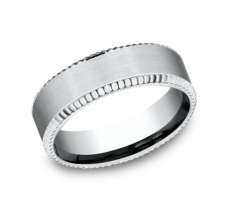 Benchmark 14K Wedding Band #CF67527