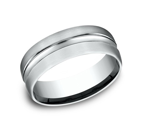 Benchmark 14K Wedding Band #CF717505