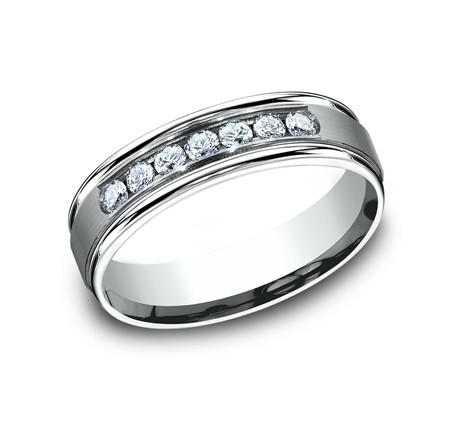 Benchmark 14K Diamond Wedding Band #RECF516516