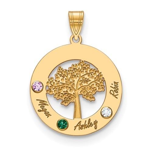 Family Tree Personalized Pendant