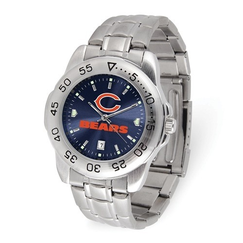 Chicago Bears Stainless Steel Watch