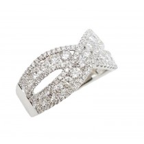 18K White Gold 1.60Ct Diamond Ring