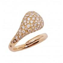 18K Rose Gold 1.00CtTW Diamond Fashion Ring