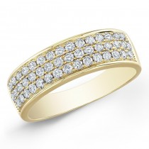 14K Yellow Gold 1.00CtTW Diamond Ring