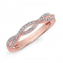 14K Rose Gold 0.25CTW Diamond Ring