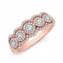 14K Rose Gold 1.00CtTW Diamond Ring