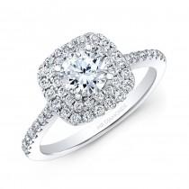 18K White Gold 1.15CtTW Diamond Ring