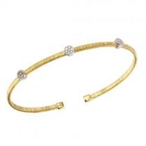 925 Gold Plated CZ Bracelet