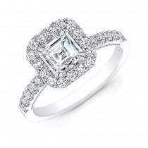 14K White Gold 1.57CtTW Diamond Ring