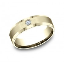 Benchmark 14K Diamond Wedding Band #CF526127