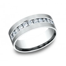 Benchmark 14K Diamond Wedding Band #CF528531