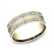 Benchmark 14K Diamond Wedding Band #CF528551