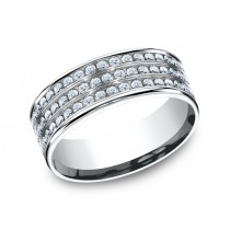 Benchmark 14K Diamond Wedding Band #CF528556