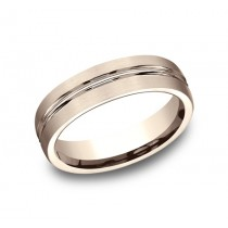Benchmark 14K Wedding Band #CF56411