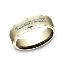 Benchmark 14K Diamond Wedding Band #CF67380