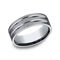 Benchmark Titanium Wedding Band #CF68423