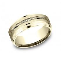 Benchmark 14K Wedding Band #CF68484
