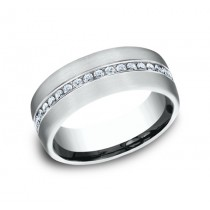 Benchmark 14K Diamond Wedding Band #CF717573