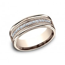 Benchmark 14K Diamond Wedding Band #CF717581