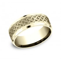 Benchmark 14K Wedding Band #CF808361