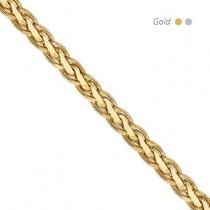 14K Flat Wheat Chain