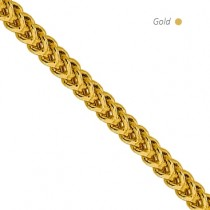 14K Yellow Gold Franco Chain