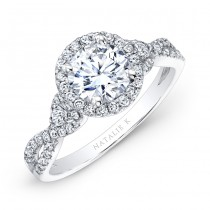 Natalie K Eternelle Collection Engagement Ring - NK26281-W