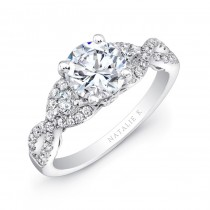 Natalie K Renaissance Collection Engagement Ring - NK26638-W