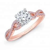 Natalie K Le Rose Collection Engagement Ring - NK28670PK