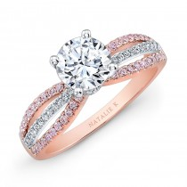 Natalie K Le Rose Collection Engagement Ring - NK28687PK