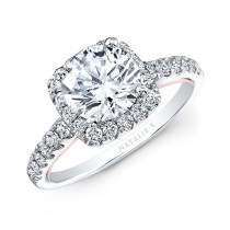 Natalie K Le Rose Collection Engagement Ring - NK33179-W
