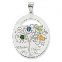 Family Tree Personalized Pendant