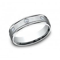 Benchmark 14K Diamond Wedding Band #RECF516140