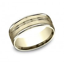Benchmark 14K Wedding Band #RECF58180