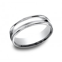 Benchmark 14K Wedding Band #RECF7601
