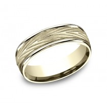 Benchmark 14K Wedding Band #RECF77337