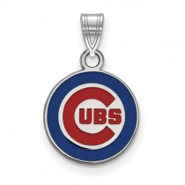 Chicago Cubs - Sterling Silver Pendant
