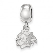 Chicago Blackhawks - Sterling Silver Bead