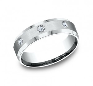 Benchmark 14K Diamond Wedding Band #CF526132