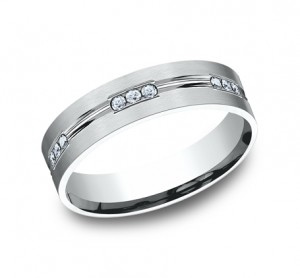 Benchmark 14K Diamond Wedding BandCF526533