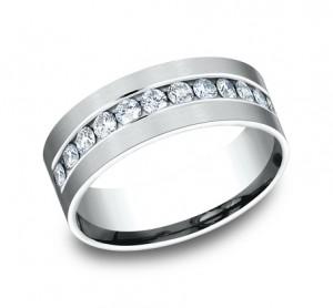 Benchmark 14K Diamond Wedding Band #CF528531