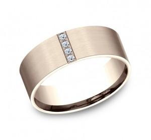 Benchmark 14K Diamond Wedding Band #CF528712