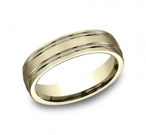 Benchmark 14K Wedding Band #CF56444