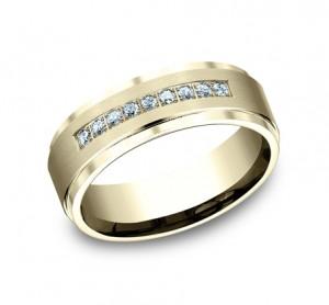 Benchmark 14K Diamond Wedding Band #CF67380