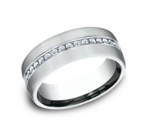 Benchmark 14K Diamond Wedding Band #CF717573