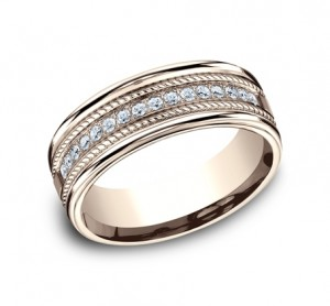 Benchmark 14K Diamond Wedding Band #CF717581