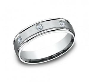 Benchmark 14K Diamond Wedding Band #RECF516140